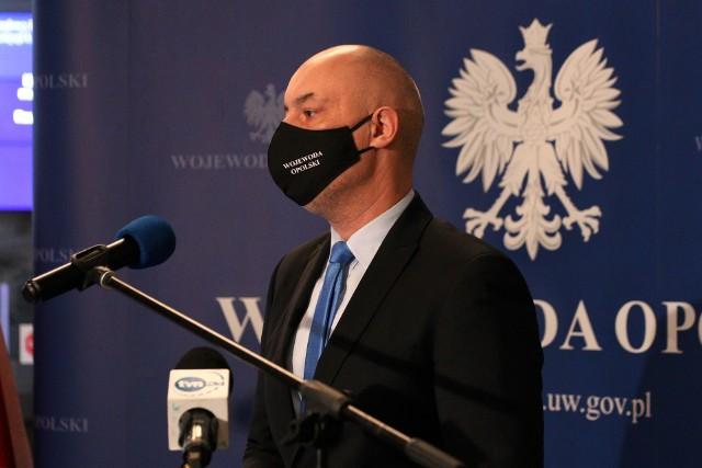 Wojewoda na słowach polityków Koalicji Obywatelskiej i prezydenta Opola nie pozostawił suchej nitki.
