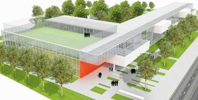 Tak ma wyglądać nowy budynek V LO przy ul. Ślężnej