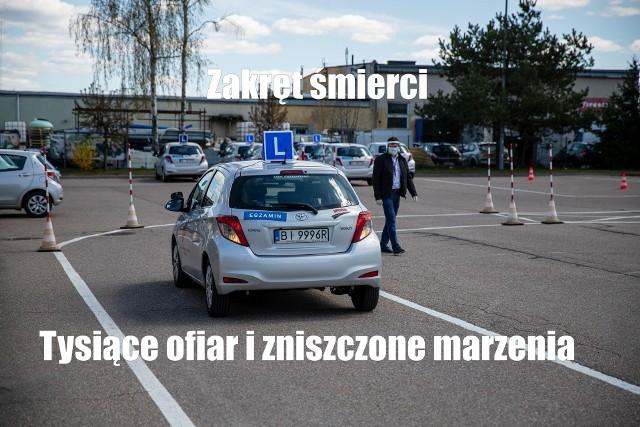 Memy o kursie na prawo jazdy, egzaminie i egzaminatorach. Najlepsze śmieszne obrazki o kursantach i elkach