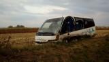 Zator. Groźnie wyglądający wypadek na drodze krajowej 44. Zderzyły się autobus z busem. Droga jest zablokowana [ZDJĘCIA]