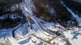 Zakopane. Kompleks Średniej Krokwi już prawie gotowy! Roboty na skoczniach idą pełną parą pomimo zimy. Kiedy pierwsze skoki?