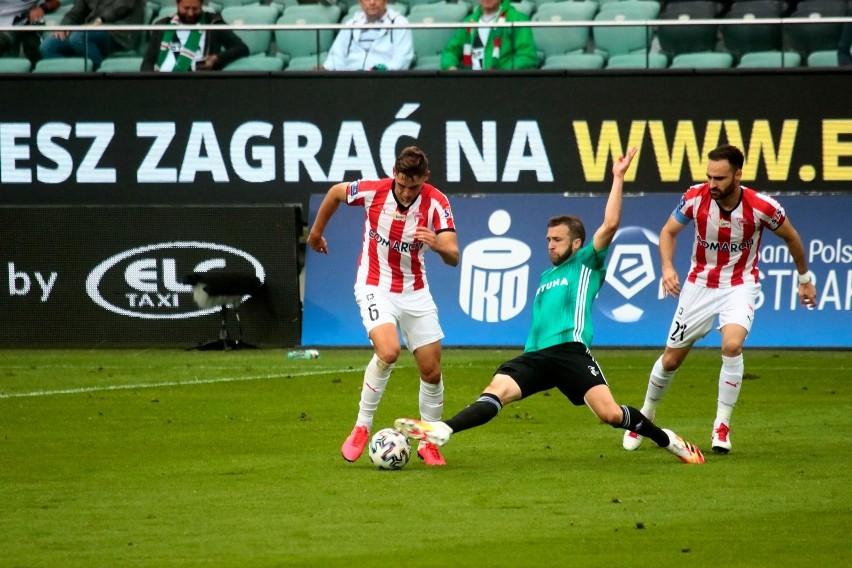 11 lipca w Warszawie, w meczu ekstraklasy, wygrała Legia 2:0. Rafael Lopes (z prawej) był wtedy jeszcze zawodnikiem Cracovii
