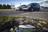 Jana Pawła II i Konstytucji 3 Maja. Kierowcy radzą sobie bez świateł i policji (zdjęcia,wideo)