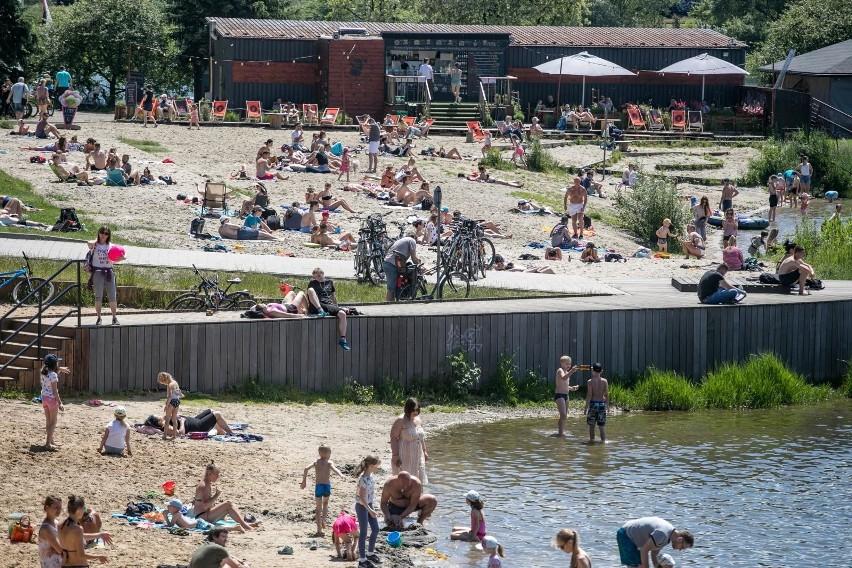 Plaża i kąpielisko Bagry Wielkie - 5 km od centrum Krakowa...