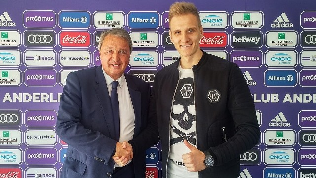 Łukasz Teodorczyk podpisał kontrakt z Anderlechtem