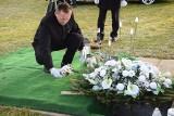 W Sieradzu na Cmentarzu Komunalnym pochowano szczątki dzieci nienarodzonych