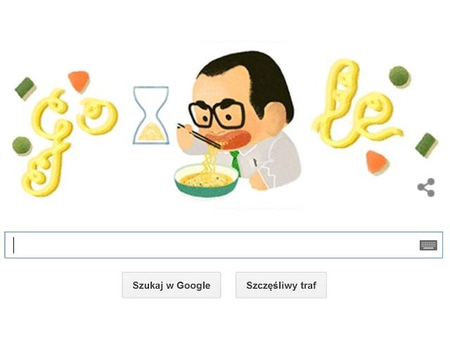 Momofuku Andō w 105. rocznicę urodzin jest na GOOGLE DOODLE. Kim był Momofuku Andō?