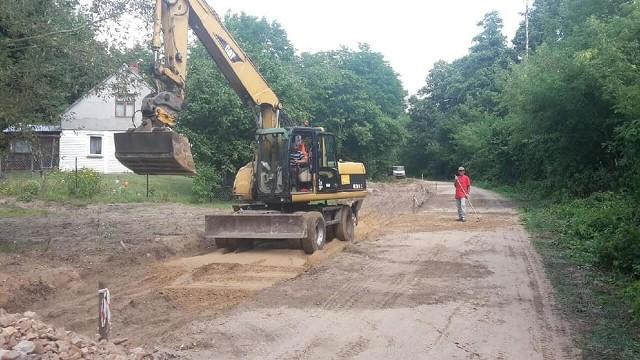 Przebudowa drogi potrwa do połowy sierpnia