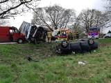 Wypadek na Strykowskiej - zderzyło się sześć samochodów! SĄ RANNI! ZDJĘCIA