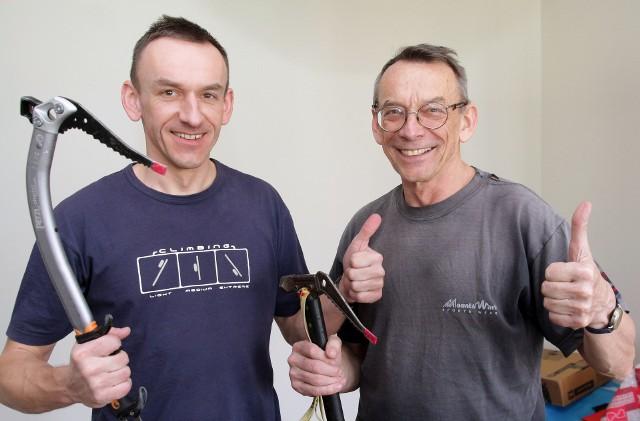 Wojciech i Lech Flaczyńscy z Grudziądza, zdobyli Makalu, piąta co do wysokości górę na świecie