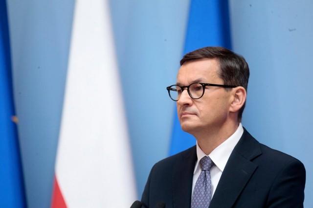 Premier o imigrantach na polsko-białoruskiej granicy: Są instrumentem w rękach Łukaszenki. Polska nie ulegnie