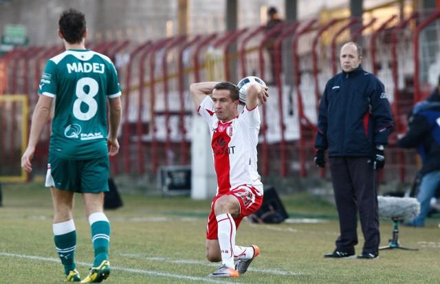 Marcin Kaczmarek jesienią był najlepszym piłkarzem ŁKS