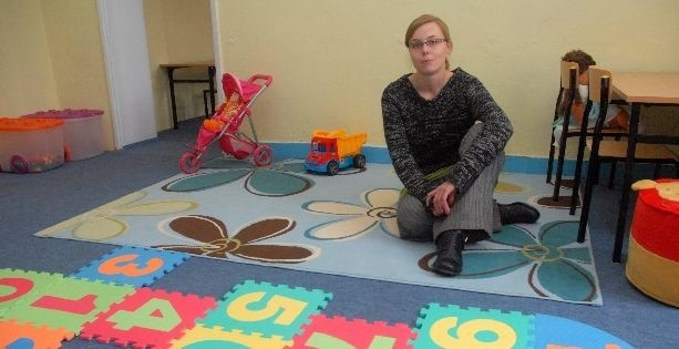 Karolina Schmidt przygotowała dla dzieci salę do zabaw i nauki. Jednak na razie w przedszkolu nie ma jeszcze maluchów