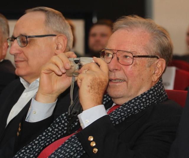 Krzysztof Zanussi odbierze Platynowe Lwy podczas tegorocznego Festiwalu Polskich Filmów Fabularnych