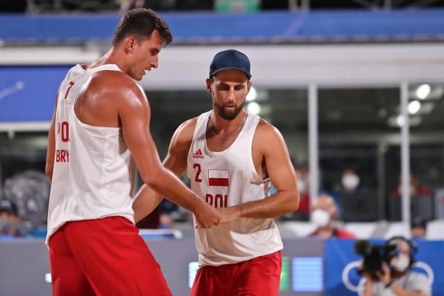 Michał Bryl i Grzegorz Fiijałek odpadli w 1/8 finału olimpijskiego turnieju w Tokio.