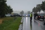 Wabcz. Tragiczny wypadek pod Chełmnem. Nie żyje policjant. Funkcjonariusz zginął na motocyklu [ZDJĘCIA]