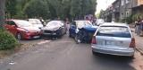 Zabrze: kolizja pięciu samochodów na ulicy Czołgistów