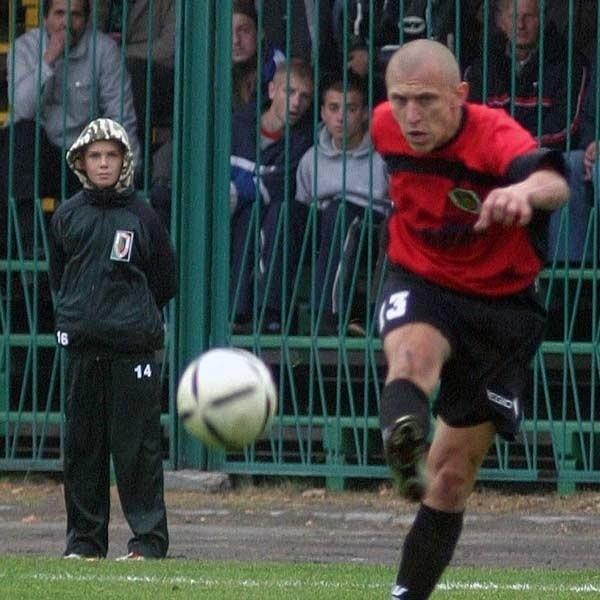 JANUSZ IWANICKIWIEK: 24 lata. W 2006 ROKU: awans ze Stalą SW do II ligi, kilka ważnych goli.