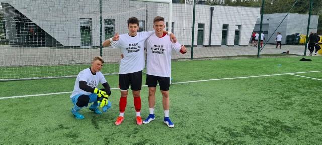 Koledzy z drużyny Jagiellonii U-17 pamiętają o  kontuzjowanym Miłoszu Matysiku