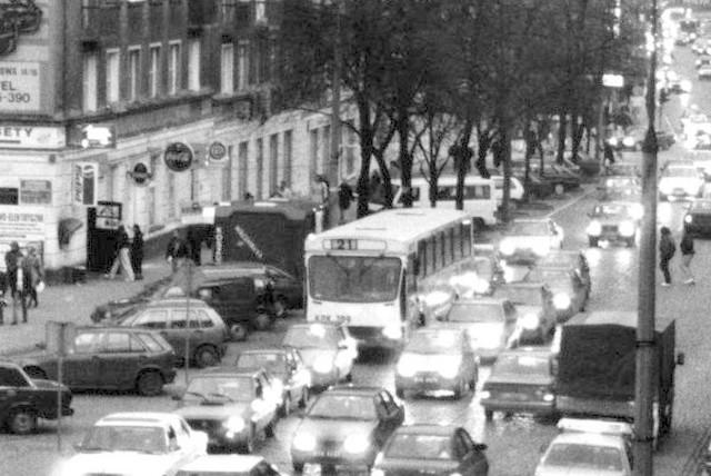 Ulica Lipowa w roku 1996