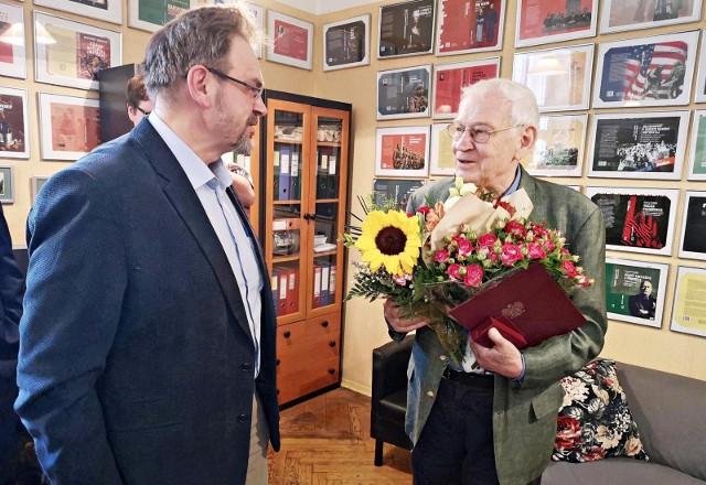 Leszek Długosz został odznaczony Medalem Stulecia Odzyskanej Niepodległości