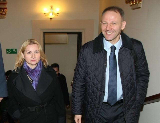 Barbara Zdrojewska i Jacek Protasiewicz znają się od wielu lat. Od pięciu także ze sobą pracują.
