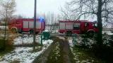 Bargłówka. Pożar sadzy w dawnej szkole. Strażacy w porę opanowali sytuację (zdjęcia)
