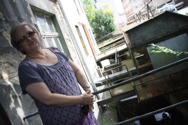 Jadwiga Kawecka: - Młyn zostanie uchroniony przed dewastacją. Będzie tu muzeum techniki młynarstwa.