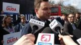 Wybory 2015: Andrzej Duda apeluje do Bronisława Komorowskiego, żeby zdjął różowe okulary [WIDEO]