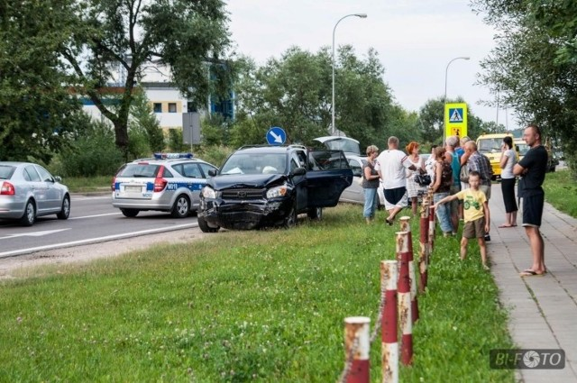 Policja nie zaklasyfikowała tego zdarzenia w kategorii wypadku
