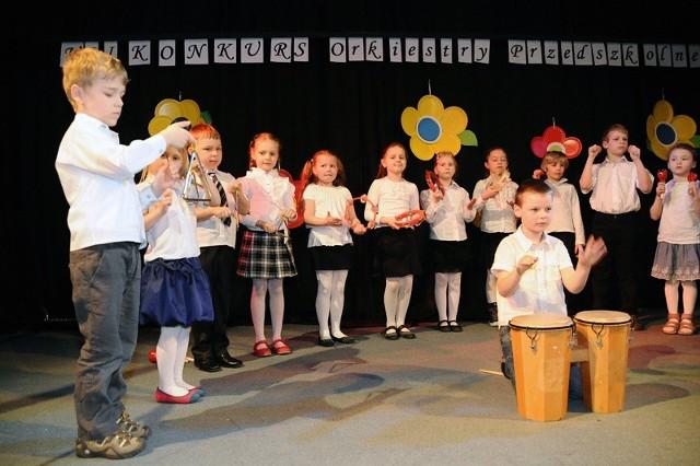 orkiestra przedszkolaków