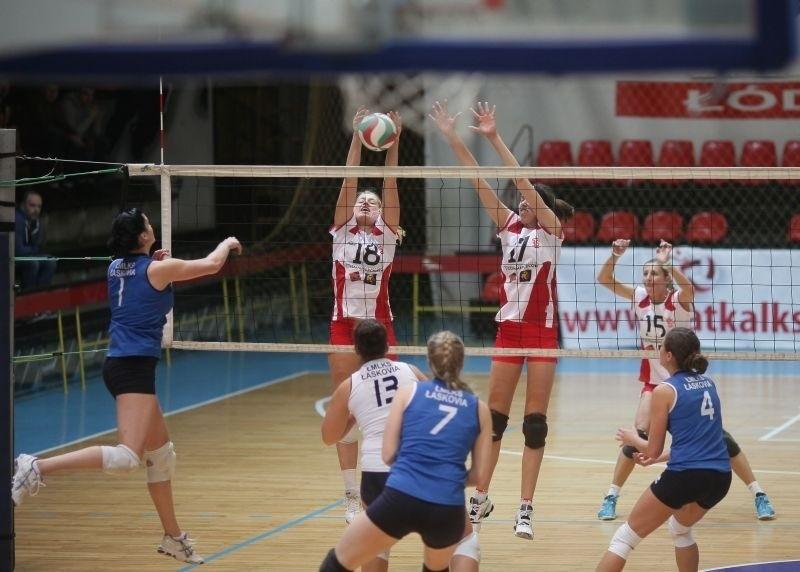 Siatkarki ŁKS wygrały trzeci mecz w tym sezonie.