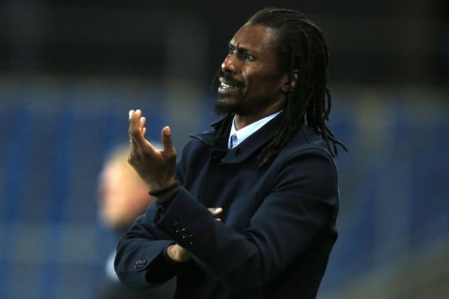 Trener Senegalu Aliou Cissé