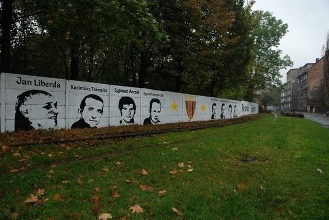 Legendy Polonii Bytom uwiecznione na 300-metrowym graffiti