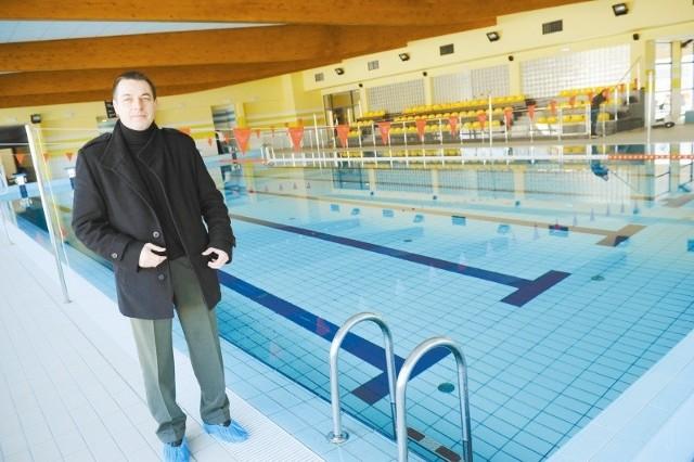 Na 14 marca zaplanowano uroczyste otwarcie krytej pływalni w Kietrzu. (fot. Daniel Polak)