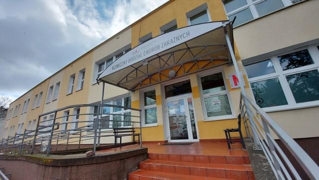 W zielonogórskim szpitalu wygospodarowano 61 nowych łóżek covidowych.