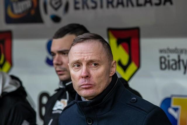 Ireneusz Mamrot nie jest już trenerem Jagiellonii Białystok