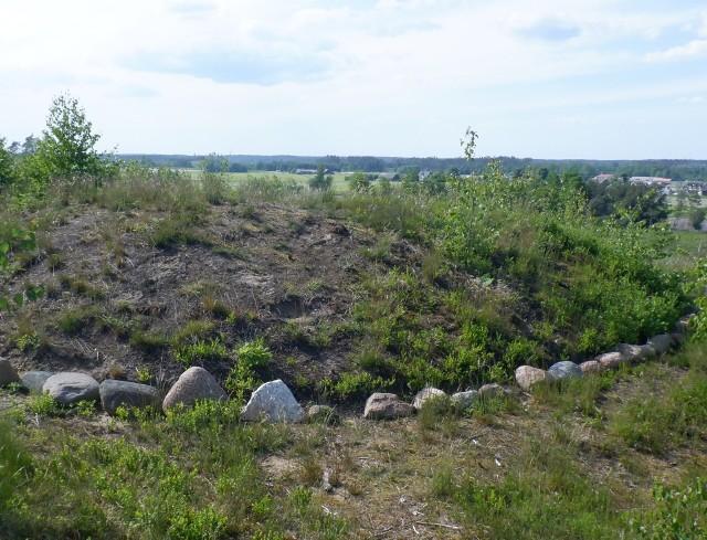 Na wzgórzu na południowym skraju Leśna znajdują się pochówki kilku starożytnych kultur, w tym przybyłych ze Skandynawii Gotów. Zmarłych chowano w kręgach kamiennych, czasem usypywano też kurhany