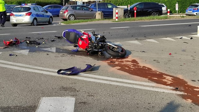 Śmiertelny wypadek na ul. Lubieszyńskiej w Mierzynie w Szczecinie