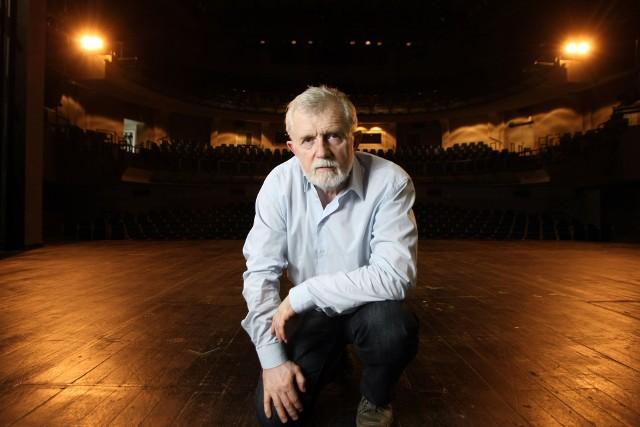 Cezary Morawski, odwołany dyrektor Teatru Polskiego we Wrocławiu.