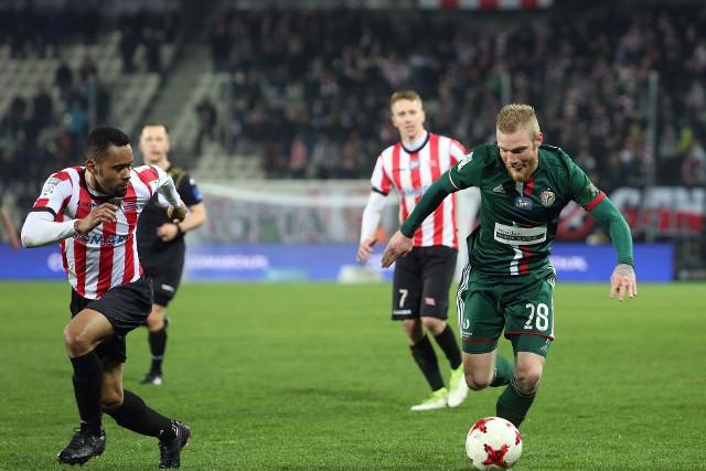 Deleu (z lewej) w Cracovii pogra przynajmniej jeszcze jeden sezon