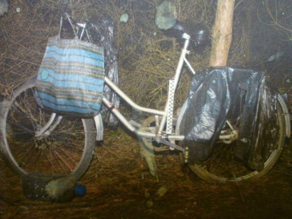 Rower znaleziony przy zwłokach.