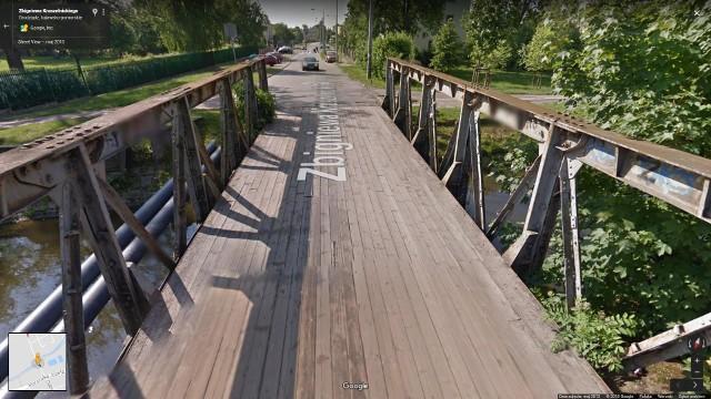 Most na ul. Kruszelnickiego w Grudziądzu musi zostać zbudowany od początku. Foto z maja 2013 r.