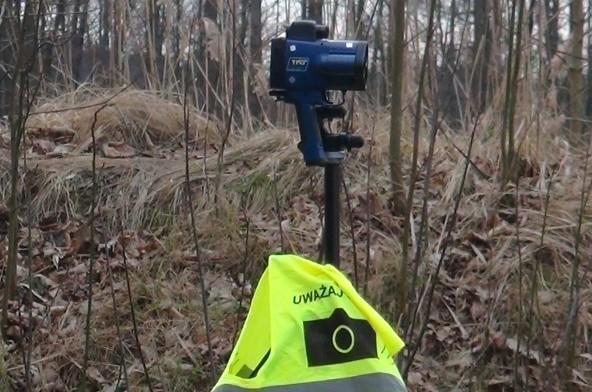 Taki przenośny fotoradar zginął strażnikom miejskim z Krosna Odrzańskiego