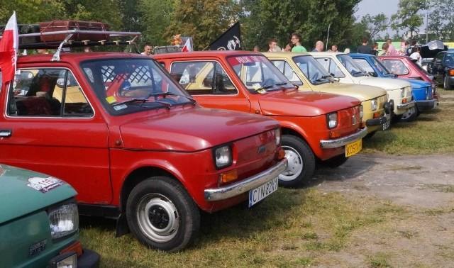 Ponad 300 samochodów wzięło udział w III Zlocie Fiatów 126p i Klasyków. Imprezę zorganizował Team PRL Inowrocław.