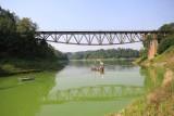 Most w Pilchowicach to unikatowy obiekt w skali Europy. Piękna okolica i wyjątkowa konstrukcja przyciąga turystów! Zobacz zdjęcia