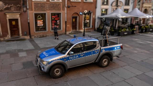 Prawie 300 policjantów będzie patrolowało ulice Gdańska