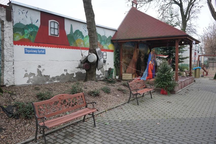 Na Topolowym Fyrtlu, czyli przy ul. Rolnej 32 w Poznaniu po...