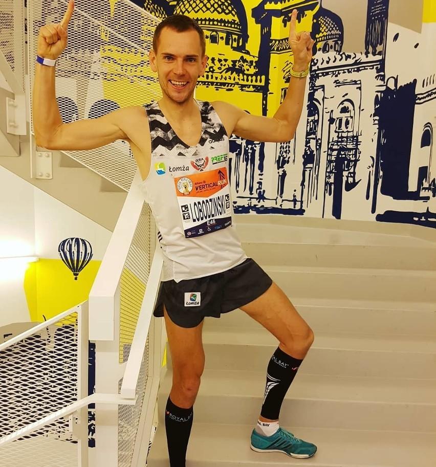 Podlasianin Piotr Łobodziński pobił kolejny rekord. Tym razem w Mediolanie [ZDJĘCIA]