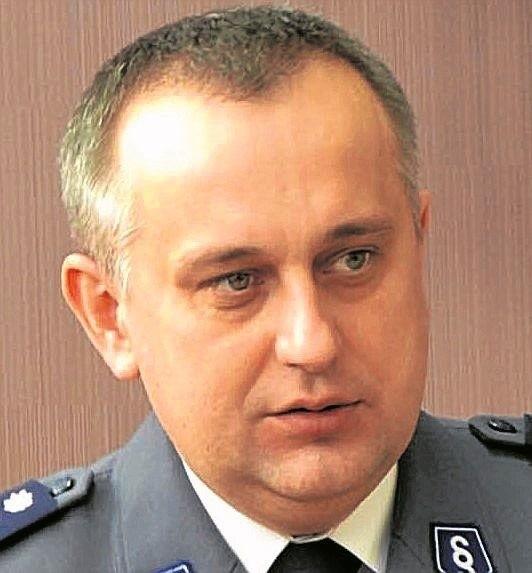 Andrzej Bałazy, komendant w Suwałkach od 2009 r.